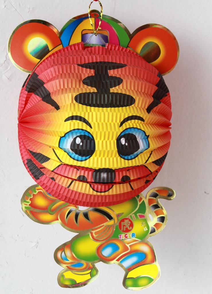 十二生肖灯笼 虎