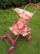 Hot foreign children's toy iron cart with tarpaulin doll Walker girls House