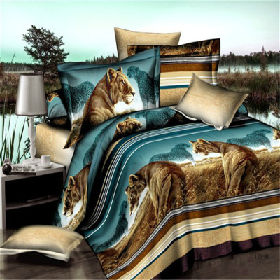 3 d landscape painting four-piece bedding manufacturers selling