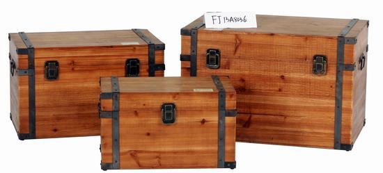 复古木箱子 复古装饰品 服装店铺陈列道具 酒吧 咖啡厅装饰品 摄影