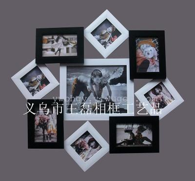 Children dress combination frame, photo wall, DIY new stylish photo frames
