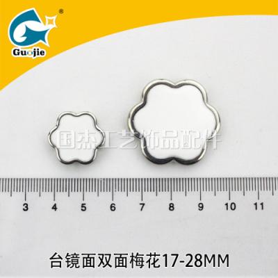 ABS mirror double - double - double - double garment accessory