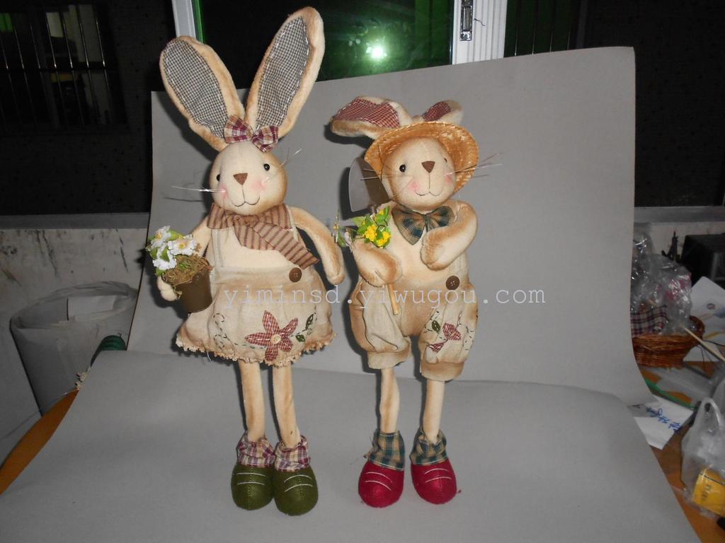 复活节兔子22寸站立6058-80_ 小瑛圣诞用品_ 义乌国际