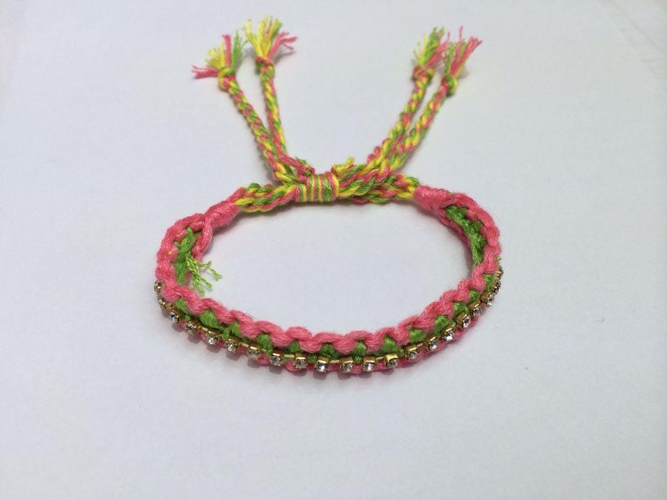 欧美时尚 手工编织手链 编织手链_ 雅珍饰品_ 义乌城