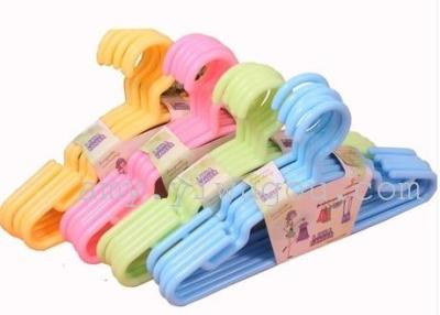 7229 plastic hanger thick clothes hang baby clothes hanging child clothes hanger baby clothes hanger