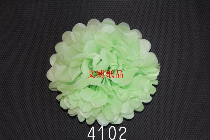 diy创意折纸花球 手工工艺纸花球 厂家直销