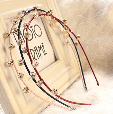Korea new genuine ultra hair band headband hairpin encrusted rhinestone hair accessories hair Bridal jewelry two postage