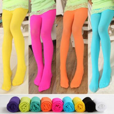 9001 spring/summer children thin velvet pantyhose girls dance tights pedal pants socks