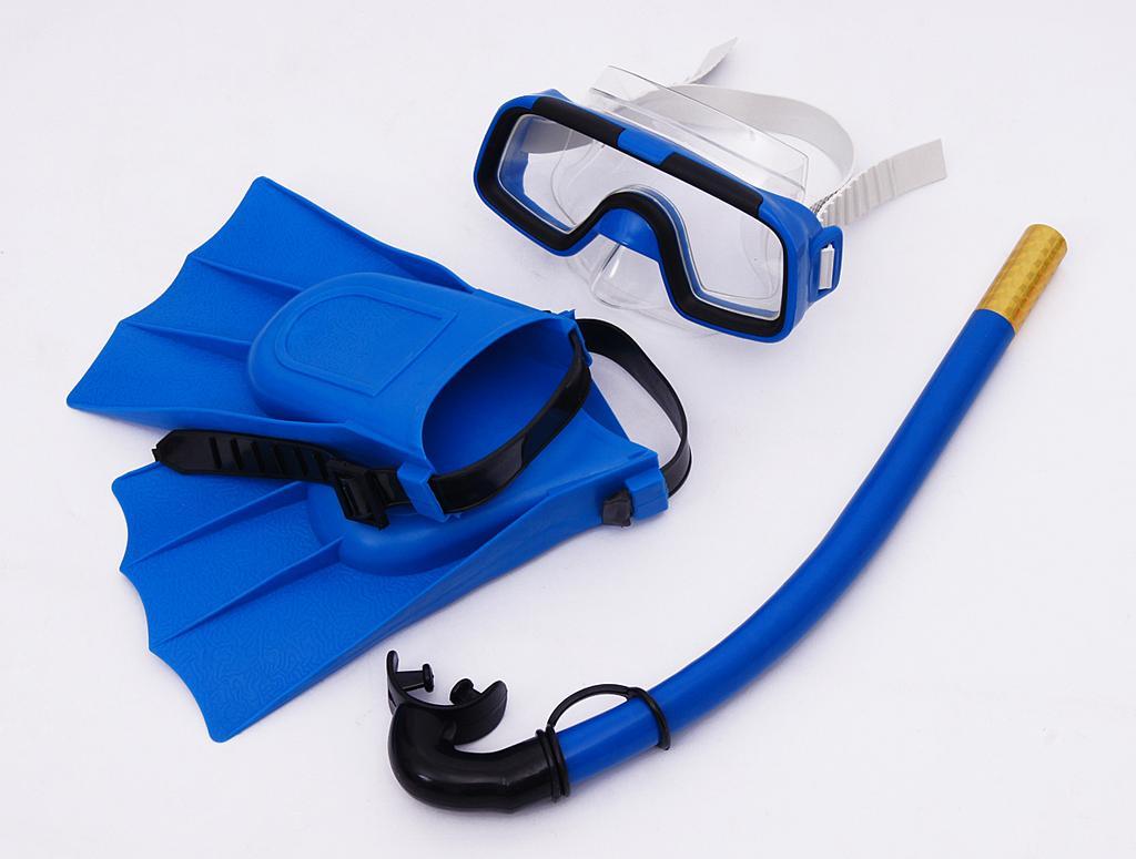 浮潜装备_特价大视野 潜水镜浮浅装备 浮潜三宝呼吸管 干式套装