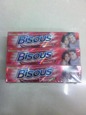 Bisous toothpaste, Crystal paste, 72