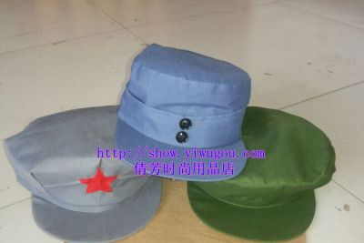 Army hats,Polyester fabric Cap,Double-buttoned military Cap,War movies props