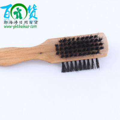 168 wooden handle brush shoe polish shoe polish manufacturers two yuan fine merchandise shoebrush