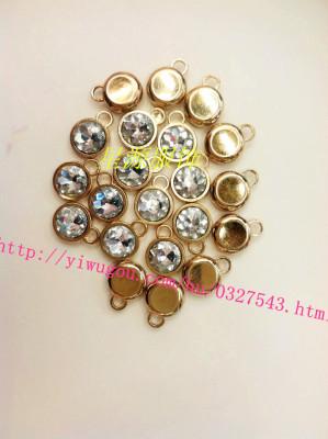 Zipper Bar Accessories drill button decorative buttons