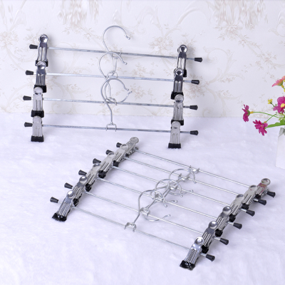 Dip dipping metal trouser rack stainless steel Pant clamp multifunctional trousers clip factory wholesale