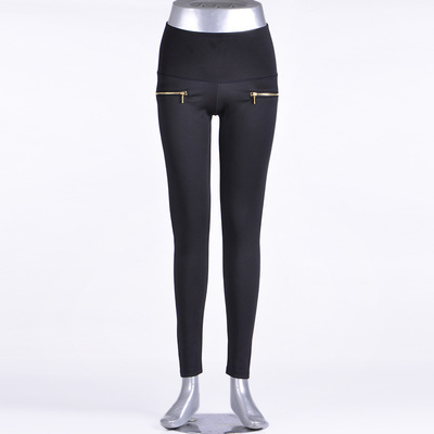 Factory wholesale summer 14 new Korean version of slim jeans female pencil pants feet pants casual pants