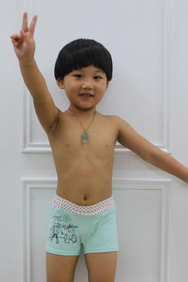 Baolei boxed stretch cotton boyshort underwear for girls quality fabrics designed specifically for children of 5036