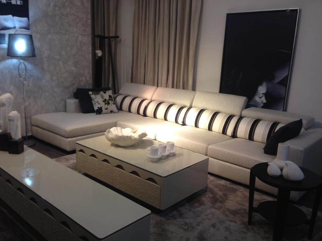 额欧式布艺沙发