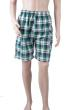 The new Hawaii fashionable stripe leisure beach pants Five men grid points short pants