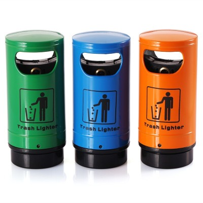 Serving creative personality Baida BD-958 dustbin style lighters flame lighters