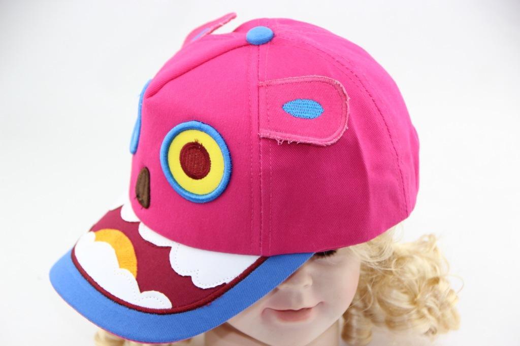 厂家批发 可爱丑脸卡通帽 婴儿布帽 宝宝1-3岁 0177