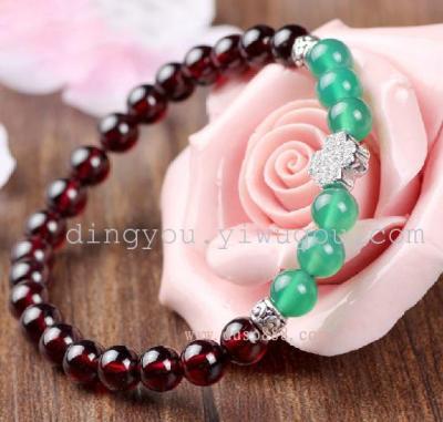 Micro-diamond gem minimalist DIY handmade fashion fashion bracelets upscale atmosphere cross bracelets WXSL-008
