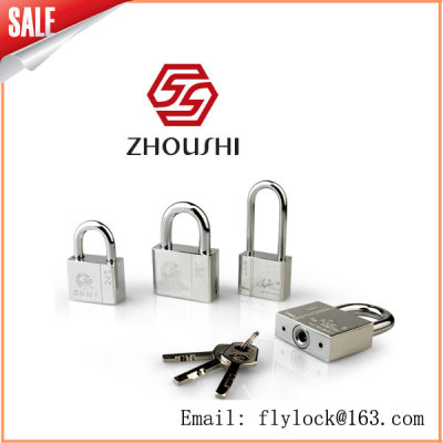 [zhou's lock industry] the four-way padlock of 40mm golden lotus leaf manufactured by the manufacturer, with 96 pieces per box
