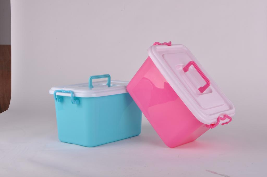 Factory Direct Medium Colored Plastic Storage Box/storage Box/utility Storage  Box/storage