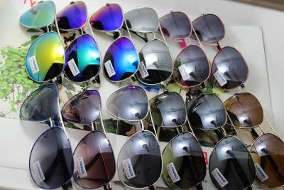 Big box metal sunglasses, sunglasses, sunglasses, sunglasses, couples, casual glasses