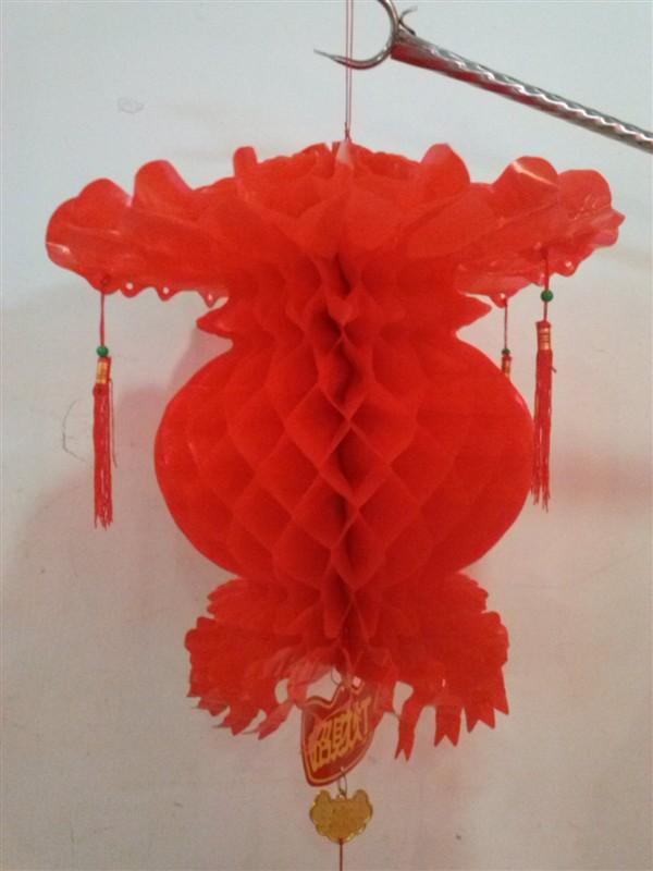 手工编织蜂窝花