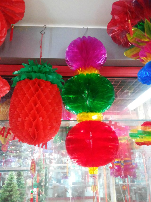 厂家直销;喜庆灯笼蜂窝折灯笼婚庆,元旦春节装饰婚房