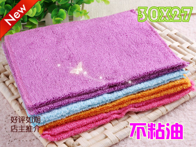 Korea dishwashing butao Bao distribution of a generation-oil dish towel magic rag street vendors wander the wood fiber cleaning wipes M3027 colour