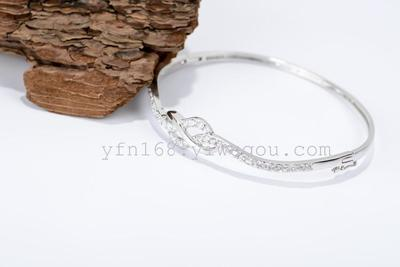 Sliver Bracelet Wholesale fine 925 sterling silver micro bracelets & bangles Up-grade quality pure 925 silver material bracelet GNSZ0026