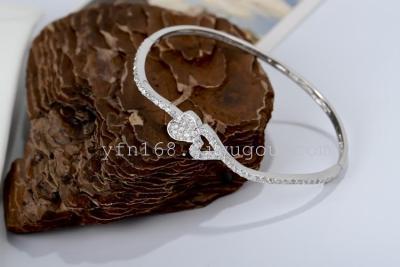 fine 925 sterling silver micro bracelets & bangles Up-grade quality pure 925 silver material bracelet GNSZ0025