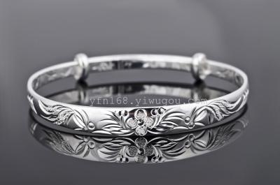 fine 925 sterling silver bracelets & bangles Up-grade quality pure 925 silver material bracelet GNSZ0111