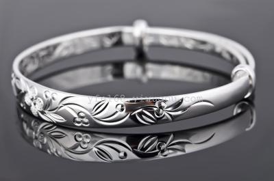 fine 925 sterling silver bracelets & bangles Up-grade quality pure 925 silver material bracelet GNSZ0112