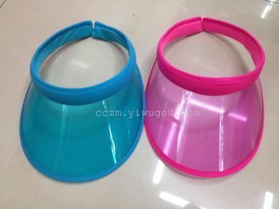 PVC hair visor