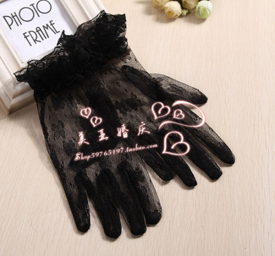 Fashion bridal dress gloves