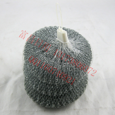 Factory direct 30G galvanized steel wire to cleaning ball 3 pack