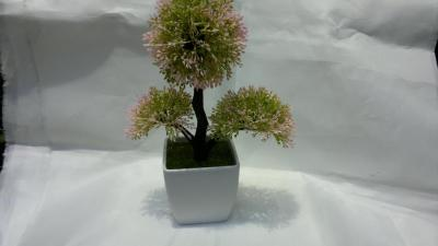 Plant simulation simulation simulation of plastic Potted Flower 3-pointed star ball simulation of bonsai
