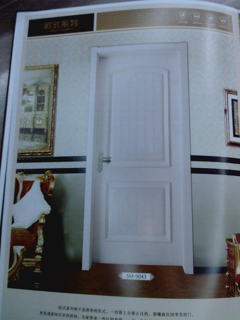 豪华卧室门