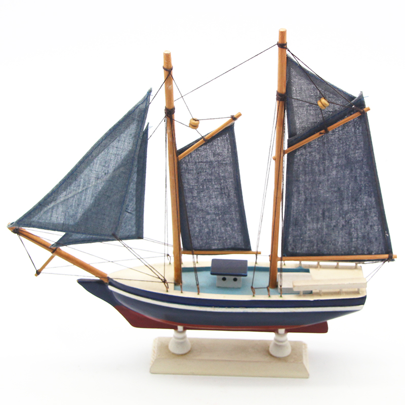 材质:木制尺寸:24*23装箱数:60颜色:蓝色商品简介:木制帆船