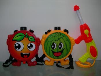 002-16   四種水果背包水槍