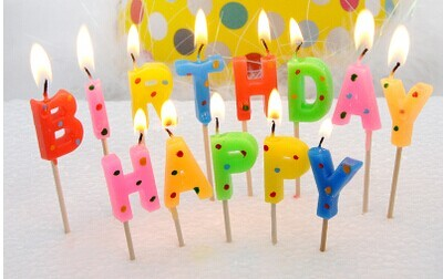 happy birthday letter candles candles birthday candle idea romantic candle