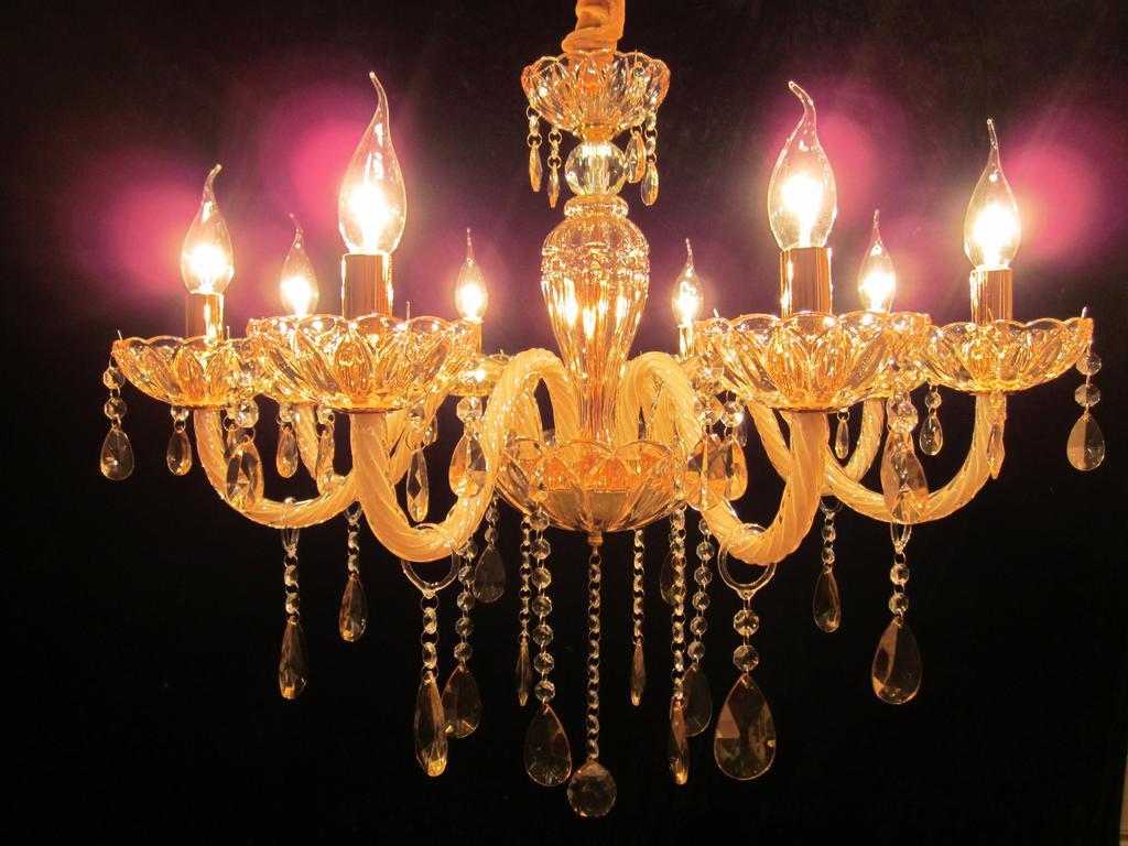 欧式玻璃管水晶吊灯卧室 餐厅 客厅创意吊灯灯具