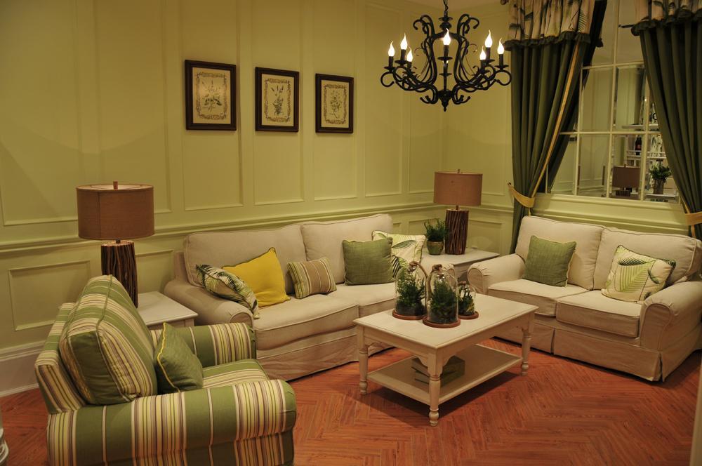 原木细语 实木家具 1 2 3组合沙发