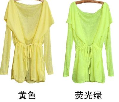 Summer of 2014 new Korean version of anti-UV protection clothes ladies lace long sleeve thin breathable jacket