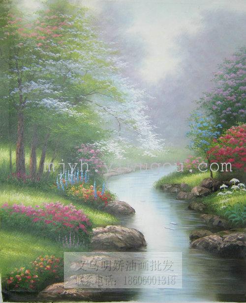 托马斯油画风景纯手绘油画15629