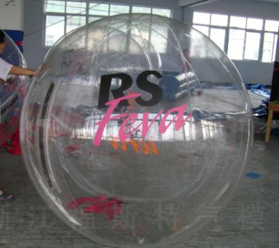 Factory direct water walking ball water drum grass leisurely wave ball touch football soccer water toys