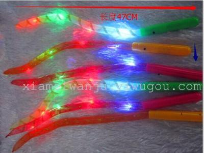 Hot selling New style braided sleeving glow stick