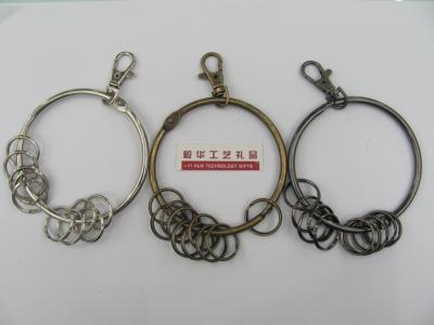 Paper clip key chain bracelet key chain keychain
